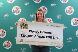 Scratch-off ticket nets Fla. woman $200k a year
