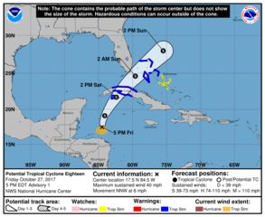 Tropical Development Expected This Weekend