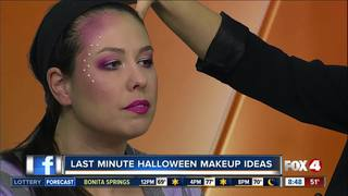 Last minute Halloween makeup tips