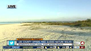 Free guided nature walks in Southwest Florida