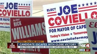 One precinct responsible for Mayor Joe Coviello