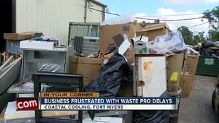 Fox 4 helps A/C company with trash problem