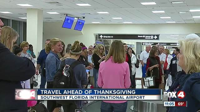 Headed to the airport this Thanksgiving? Arrive early