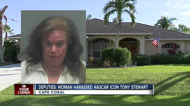 Cape Coral woman accused of stalking Tony Stewart after autograph snub