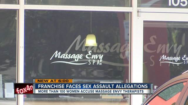 Massage Envy facing scores of assault allegations