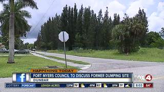Ft. Myers Council to discuss toxic sludge Monday
