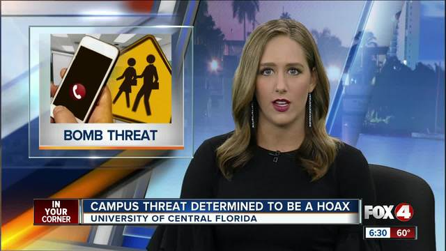Weapons threat at Central Florida campus was a hoax