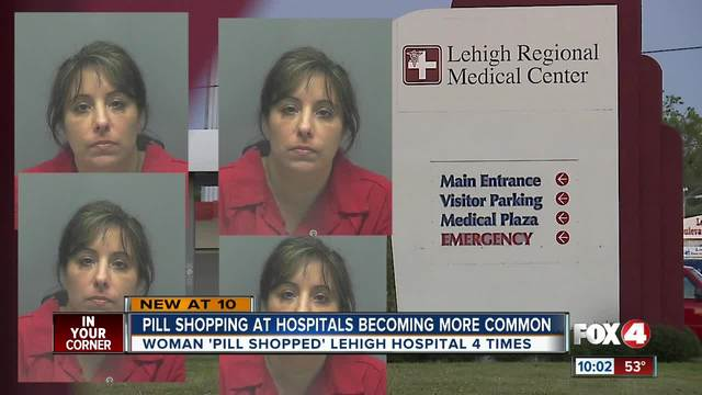 Woman arrested for -pill shopping- in Lehigh Acres
