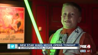 Star Wars early screening attracts hundreds