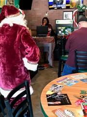 Christmas karaoke contest benefits eye clinic
