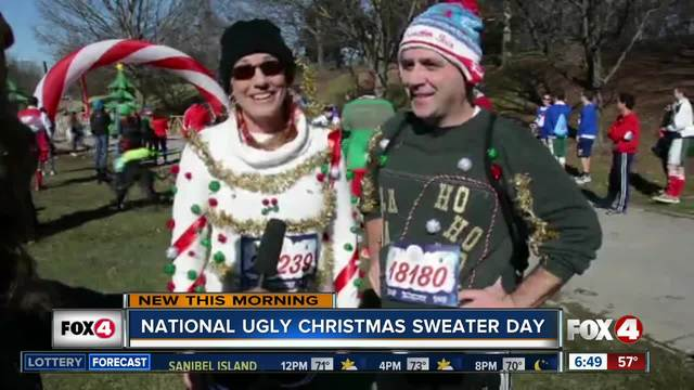 Friday is National Ugly Christmas Sweater Day