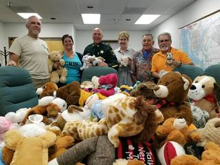 Bears delivered to kids dealing with trauma