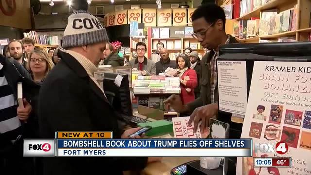 Searching for a copy of 'Fire and Fury' in Vancouver? Good luck