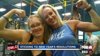 Personal trainers help with New Year resolutions