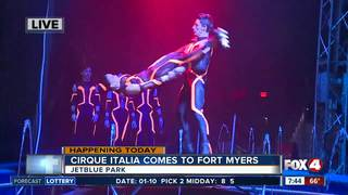 The Water Circus comes to Fort Myers
