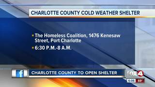 Port Charlotte homeless shelter opening