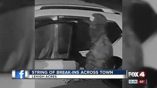 Deputies seeking car burglary suspects
