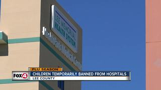 Children restricted from Lee Health Hospitals