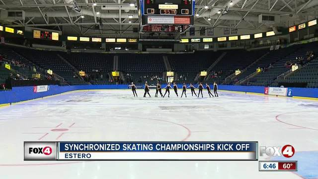 Synchronized skating competition comes to Estero