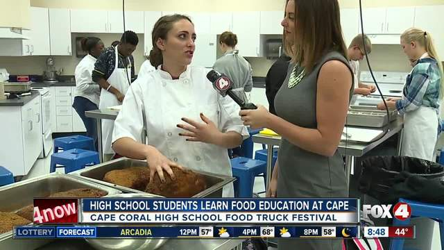 Cape Coral High School cooks for Community Festival