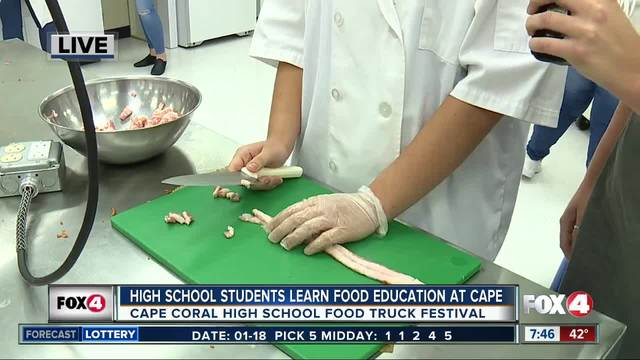 Community Festival at Cape Coral High School - 7-30am live report