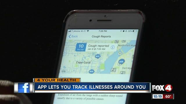 New app tells how close the flu is to you