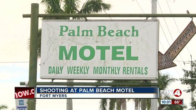 Shooting at Palm Beach Motel