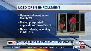 Lee Co. school district open enrollment underway