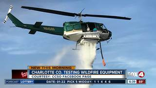 Charlotte Sheriff preparing for fire season
