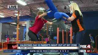Valentines Day is Parents Night Out at Sky Zone