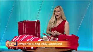 Wear Red For Heart Disease With Lands End