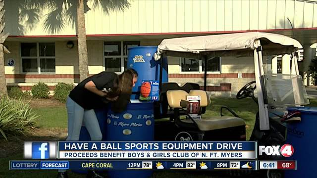 13-year-old Cape Coral student starts sports equipment drive to help…