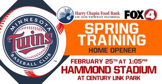 Enter for a chance to go to the Twins Opener