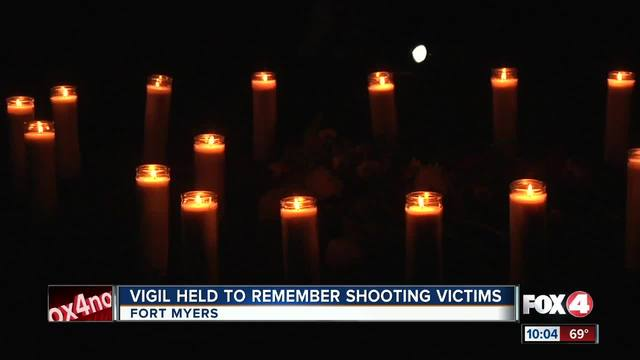 Vigil held to remember shooting victims