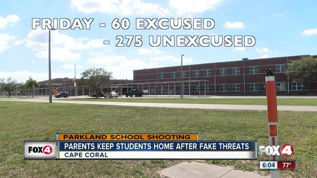 335 kids stay home Friday from Caloosa Middle