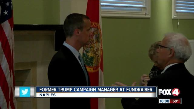 Former Trump campaign manager visits Naples