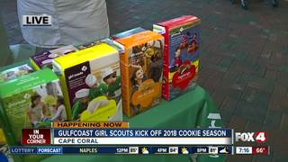 Cookie sales begin for Girl Scouts of Gulfcoast