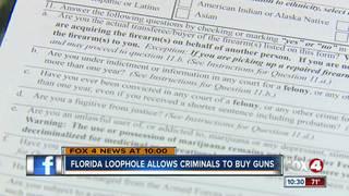 'Lie & try' to buy a gun, not a FL crime