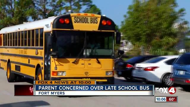 Lee County Parents Say School Buses Are Consistently Late