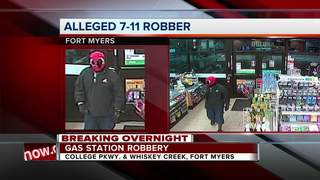 Masked man with a knife robs Fort Myers store