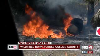 Wildfires expand to 7,000 acres in SWFL
