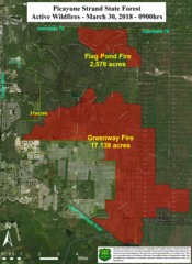 Southwest Florida fires update March 30, 2018