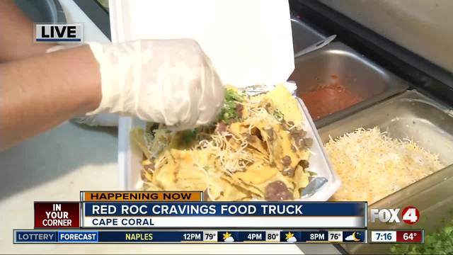 Food truck friday red roc cravings fox now wftx fort
