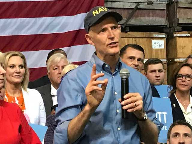 Florida Gov. Rick Scott formally announces run for Senate, challenging Bill Nelson