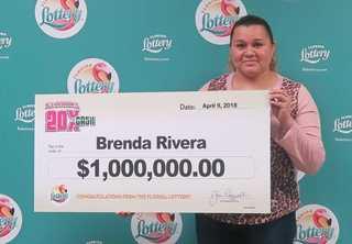 Clewiston woman wins $1M playing Florida lottery