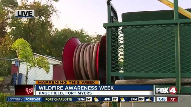 Wildfire Awareness Week in SWFL