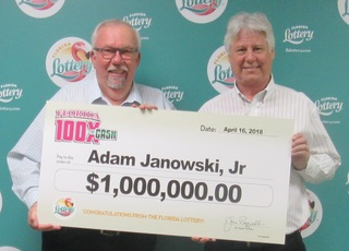 Fort Myers man wins $1 million in lottery