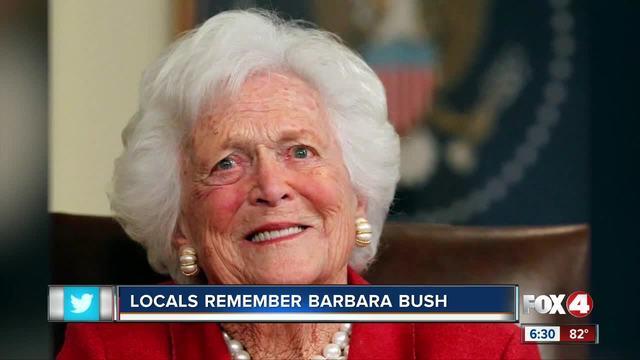 Funeral arrangements set for Barbara Bush