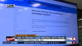 How to protect your personal data online