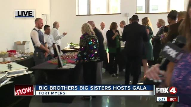Big Brother Big Sister host -Chef Cooking for Kids- gala